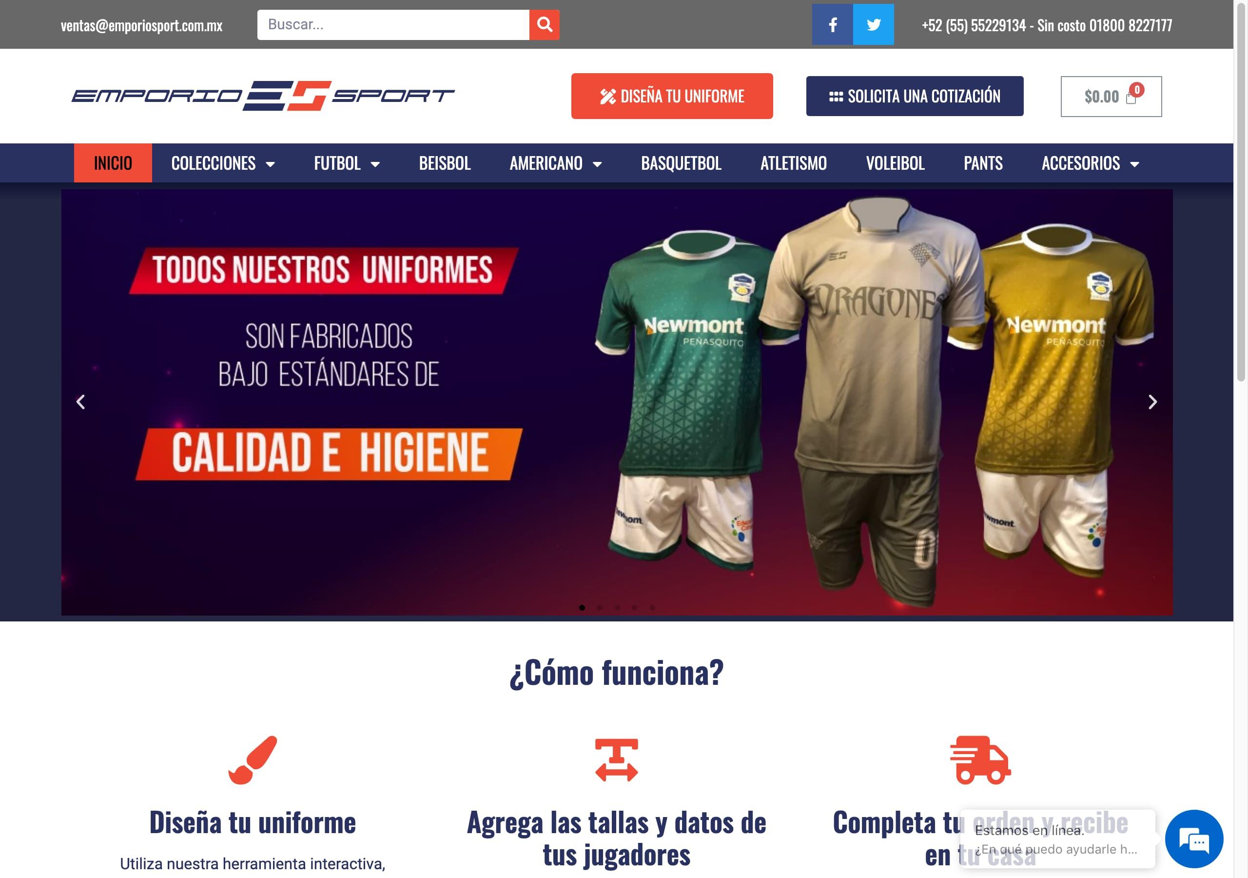 emporiosport.com.mx