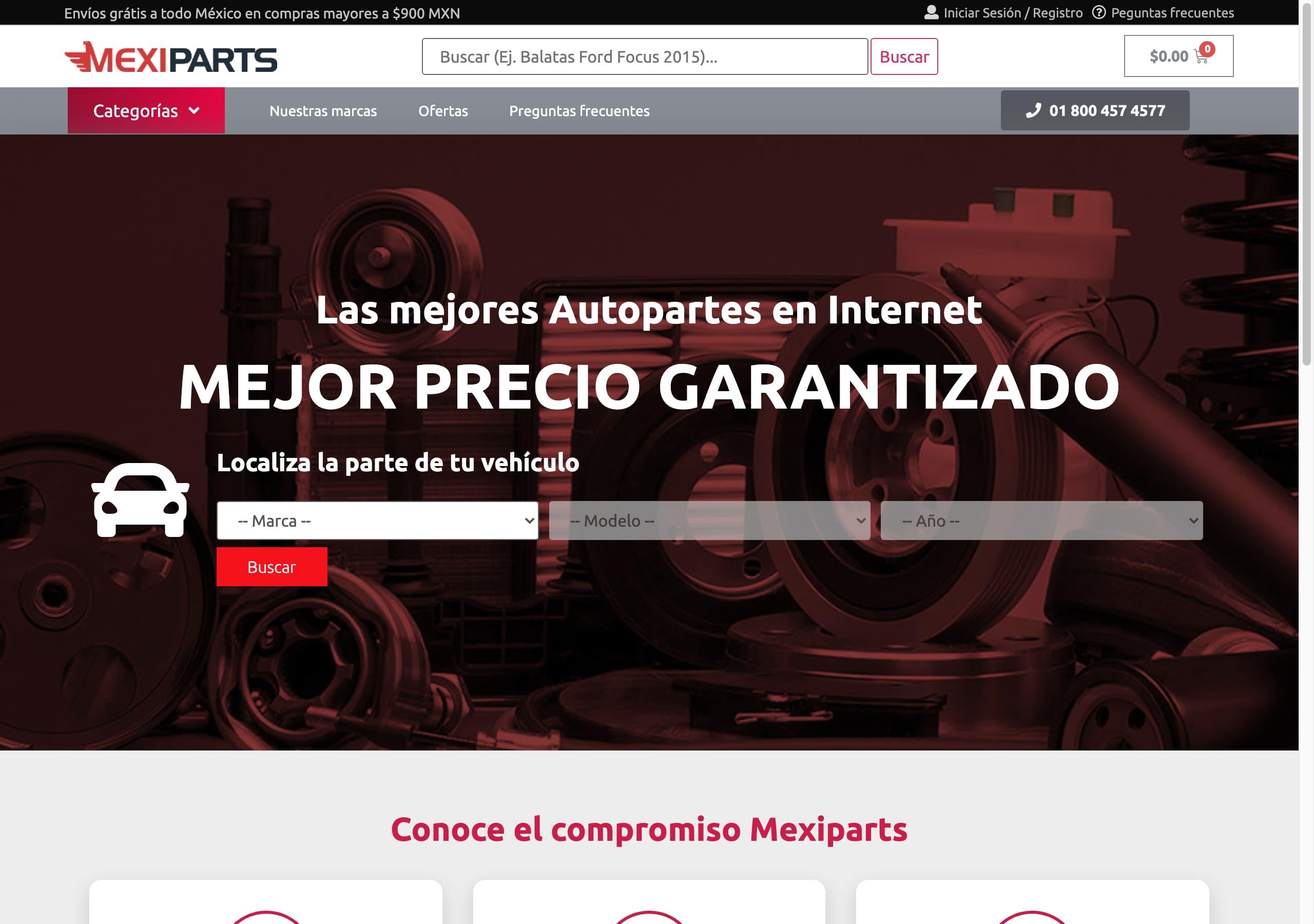 mexiparts.net